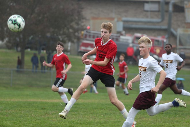 Parker Hagen had a pair of goals for Rogers in a win over PCD.