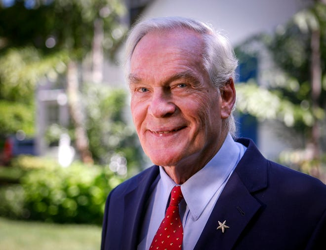 Dr. Michael Dennis has stayed active in his retirement, including being founding chairman of the Florida Atlantic University School of Medicine.