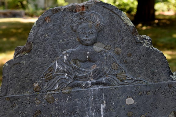 "Mary Nasson's tombstone in York, Maine, has been described in local myth as a ""witch's grave."" But that urban legend obscures the Old Burying Ground's actual ties to the Salem Witch trials."