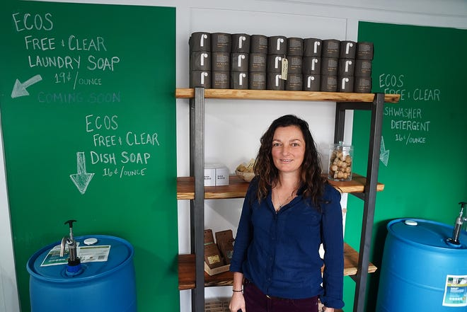 Jessica Blasko of Portsmouth, has recently opened The ReFill Station on Bartlett Street in order to reduce the plastic footprint and to provide refillable and sustainable products.