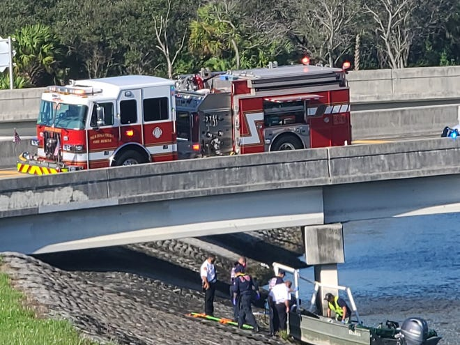 Authorities said one person died and two were hurt in a boating incident in suburban West Palm Beach on Oct. 27, 2020.