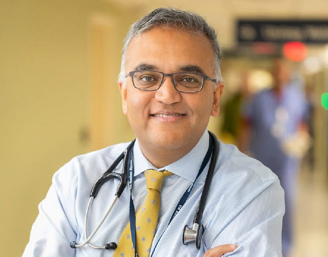 Dr. Ashish Jha, dean of the Brown University School of Public Health