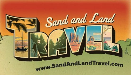 Sand and Land Travel specializes in North American and Caribbean vacations.