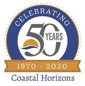 Coastal Horizons celebrating the Open House Transitional Living Program's one year anniversary.