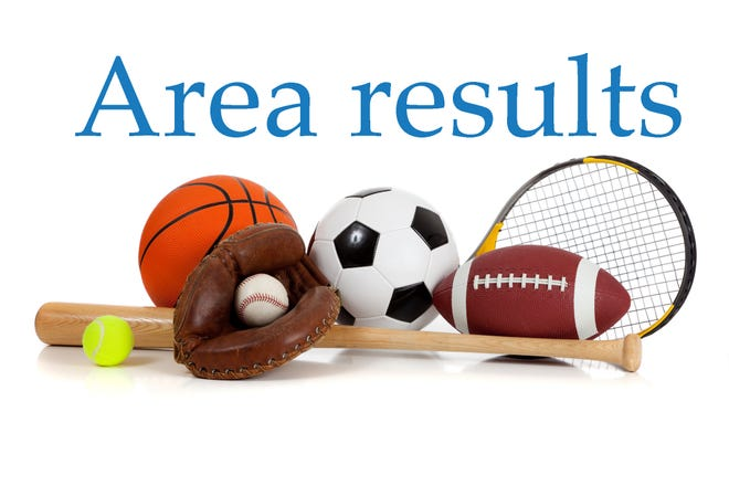 Local high school sports results