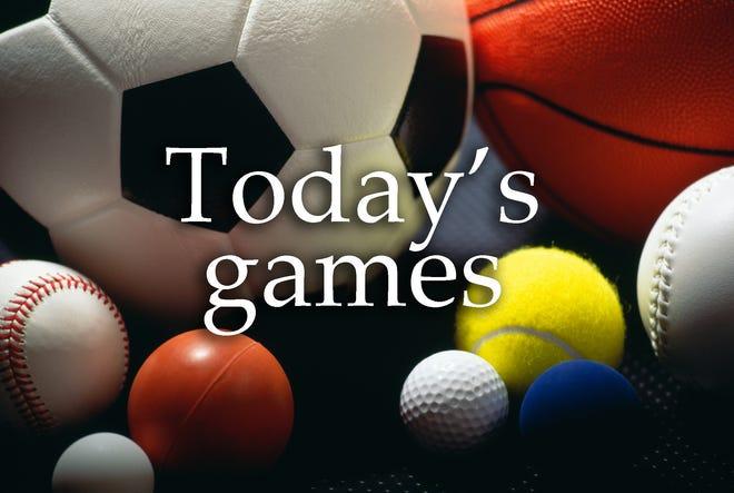 Balls representing various sports
