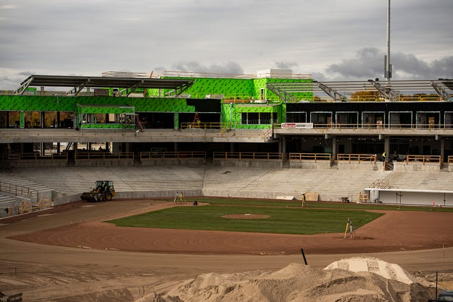 Polar Park will be bustling next spring, as the Red Sox officially named Worcester as a Triple-A affiliate on Wednesday. [T&G Staff/Ashley Green]