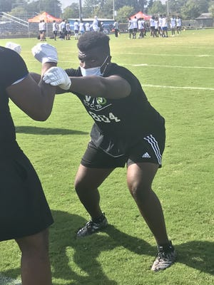 West Craven junior C.J. Mims is one of the top defensive tackle prospects among North Carolina players in the 2022 class.