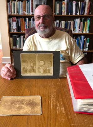 Jay Whitworth discovered a treasure trove of historic photos of Alachua County in a cedar chest after his mother, a Cross Creek native, died In 1994.
