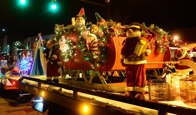A huge crowd turned out for the 2019 Attalla Christmas Parade on Dec. 5, 2019. This year's event had been scheduled for Dec. 10 but has been canceled because of concerns over increased COVID-19 cases.