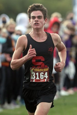 St. Charles senior Owen Karas had the area's top time at the district level, winning the Division I, district 3 race in 15:37.2 on Oct. 24 at Hilliard Darby. He then was second (15:52.7) in the regional meet Oct. 31 at Pickerington North.