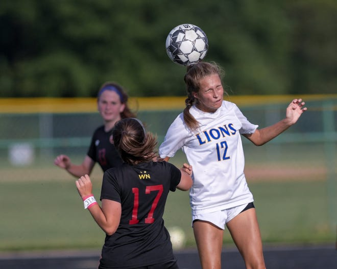 Gahanna's Taylor Marcum (right) is expected to be one of the top returnees for the girls soccer team, which finished 8-9-1 overall and fourth at 2-2-1 in the OCC-Ohio Division.