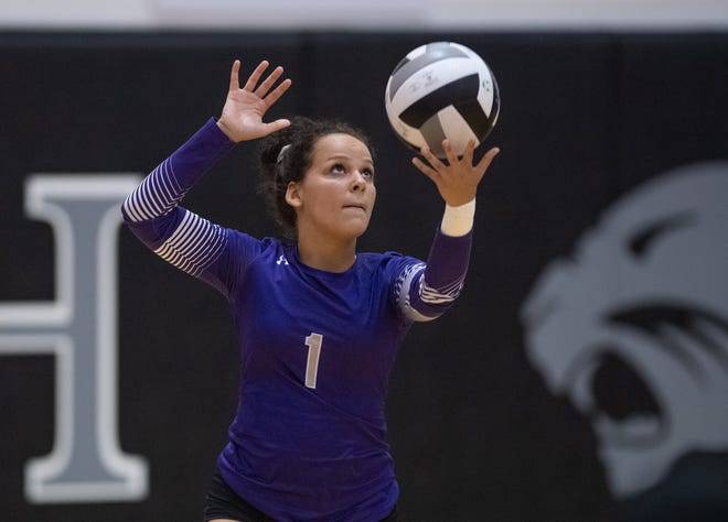 "Senior Vanessa Glass was a key contributor as the Central girls volleyball team went 19-5 overall and won the OCC-Buckeye title at 10-0. Coach Eric Hughes said Glass has a volleyball IQ that is ""through the roof."""