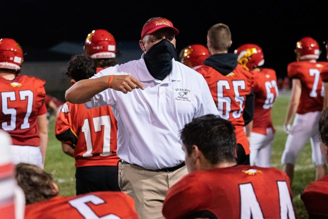 """Big Walnut football coach Rob Page believes his team will benefit from having extra practice time after being eliminated from the playoffs. The additional practices are """"critical to program development,"""" he said."""