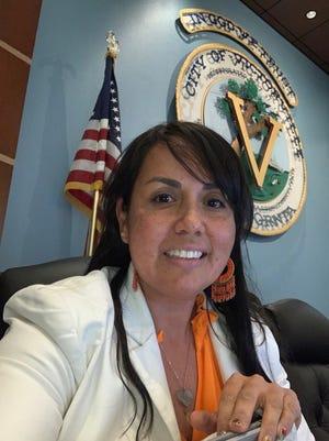 Victorville Councilwoman Blanca Gomez.