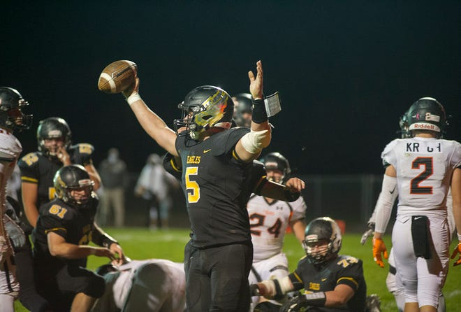 Tristan Cross and the Eagles have a huge playoff game Saturday night for a spot in the regional championship game.