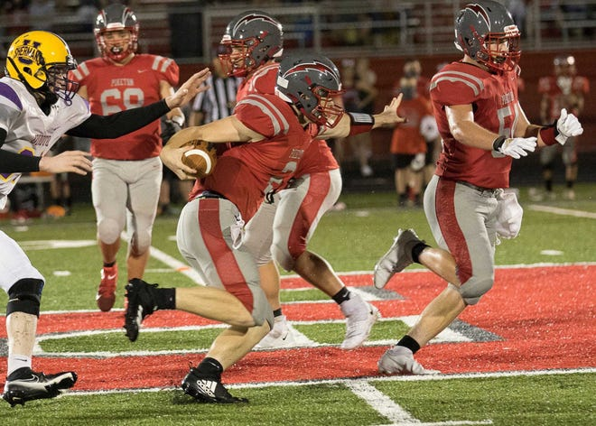 Piketon junior quarterback Levi Gullion was selected as the Scioto Valley conference Co-Offensive Player of the Year.