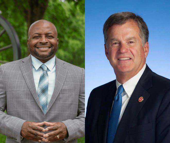 Republican Bill Powers faces Democrat Ronnie Glynn for Tennessee Senate District 22.