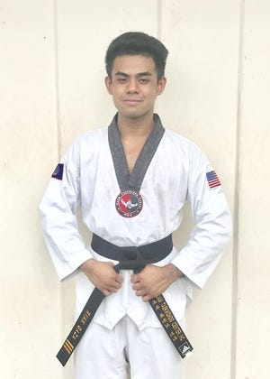Ryan Gaza, a third degree blackbelt from Guam Taekwondo Center recently won a gold medal in the 2020 Global Taekwondo Online Speed Kicking Championships.