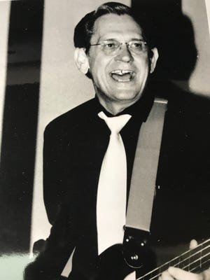A key figure in Memphis music history, Stan Kesler -- seen here playing with the Sun Rhythm Section in probably the late 1980s -- was a musician, songwriter, engineer and producer.