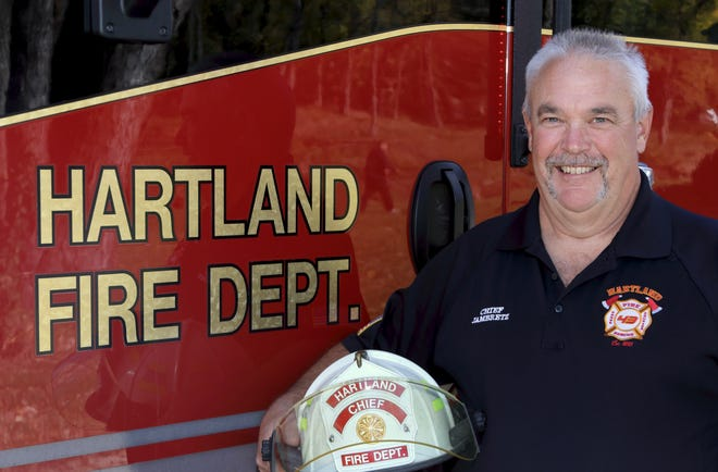 Dave Jambretz has been hired as the permanent fire chief in Hartland.