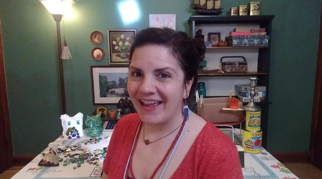 """Karen Estrada performs in First Stage's virtual play """"The Girl Who Swallowed a Cactus (In Your Home)."""""""