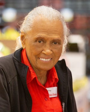 WWII veteran and current Winn-Dixie worker Romay Davis turned 101 on Oct. 29.