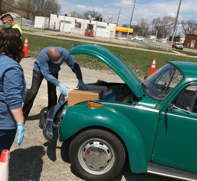 The drive-up event will be held from noon to 2 p.m. Thursday at 200 Grand River Ave., Port Huron.