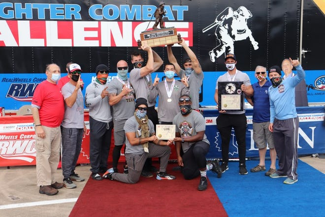 The St. Lucie County Firefighter Combat Challenge team won first place in the world championships held in Irving, Texas, in a four-day competition Oct. 22 to Oct. 25, 2020.