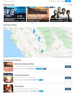 The Visalia Times-Delta/Tulare Advance-Register and more than 200 other Gannett  will launch a new tool to help readers find things to do around the community starting Friday, Oct. 30 at https://www.visaliatimesdelta.com/things-to-do/events/