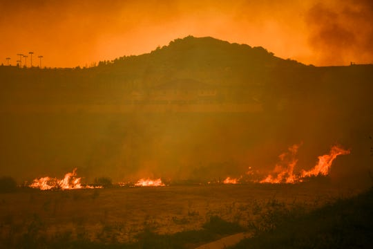 The Silverado Fire forced the evacuation of 60,000 Irvine residents.