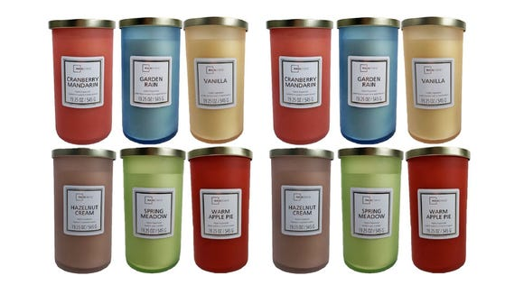 Best gifts from Walmart 2020: Mainstays Frosted Glass Single-Wick Candle