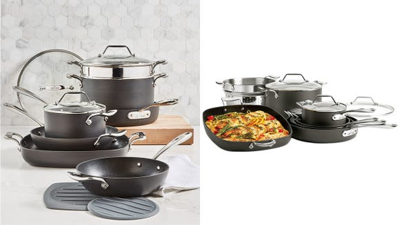 This nonstick Essentials set contains pieces that every cook needs in their kitchen.