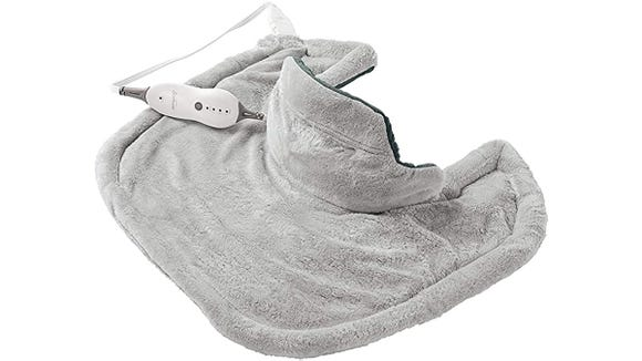 Cozy up with this heating pad from Sunbeam.