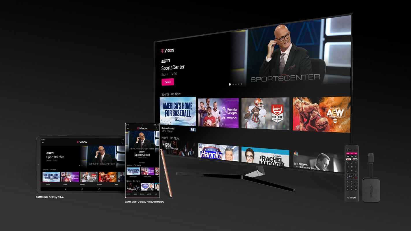 T-Mobile wants to help more pay-TV customers cut the cord with its new streaming service TVision