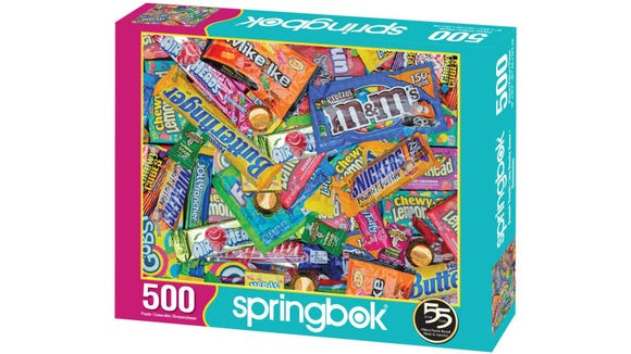 You'll get a sugar rush with this puzzle.
