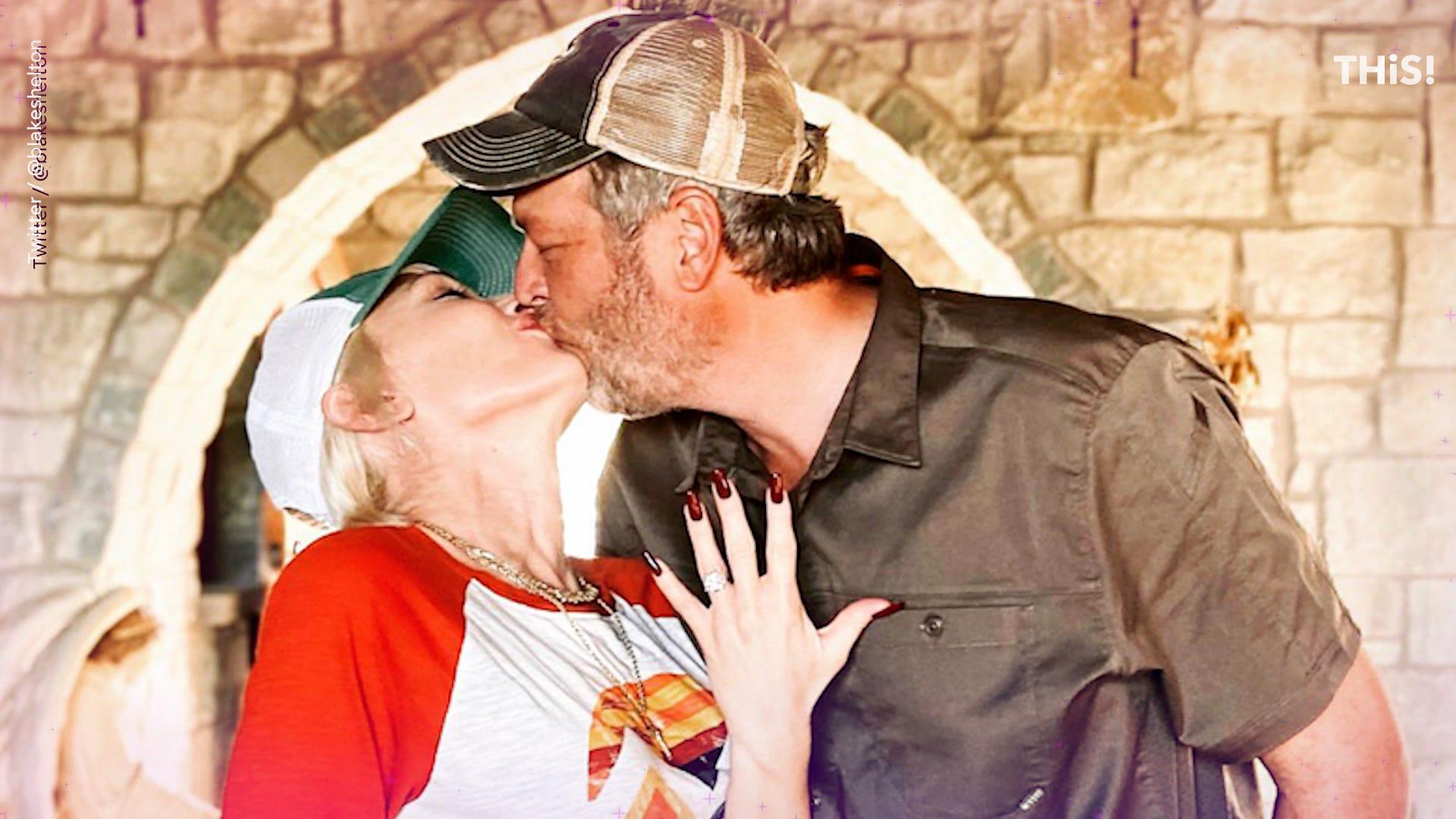 'Yes please!' Gwen Stefani and Blake Shelton announce engagement on social media