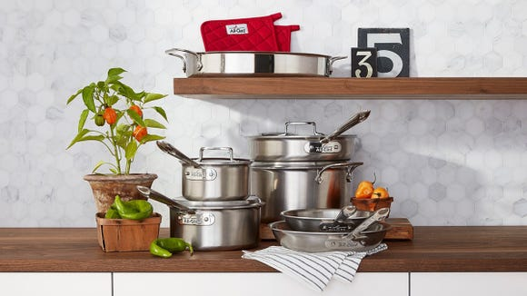 Best luxury gifts: All-Clad Cookware Set