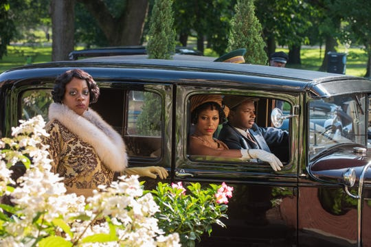 """Viola Davis (left, with Taylour Paige and Dusan Brown) plays the blues-singing title character in 1920s musical period piece """"Ma Rainey's Black Bottom."""""""