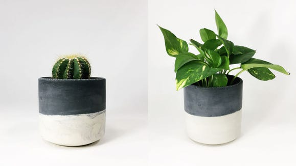 Best gifts for husbands 2020: Straight-Sided Concrete Pot