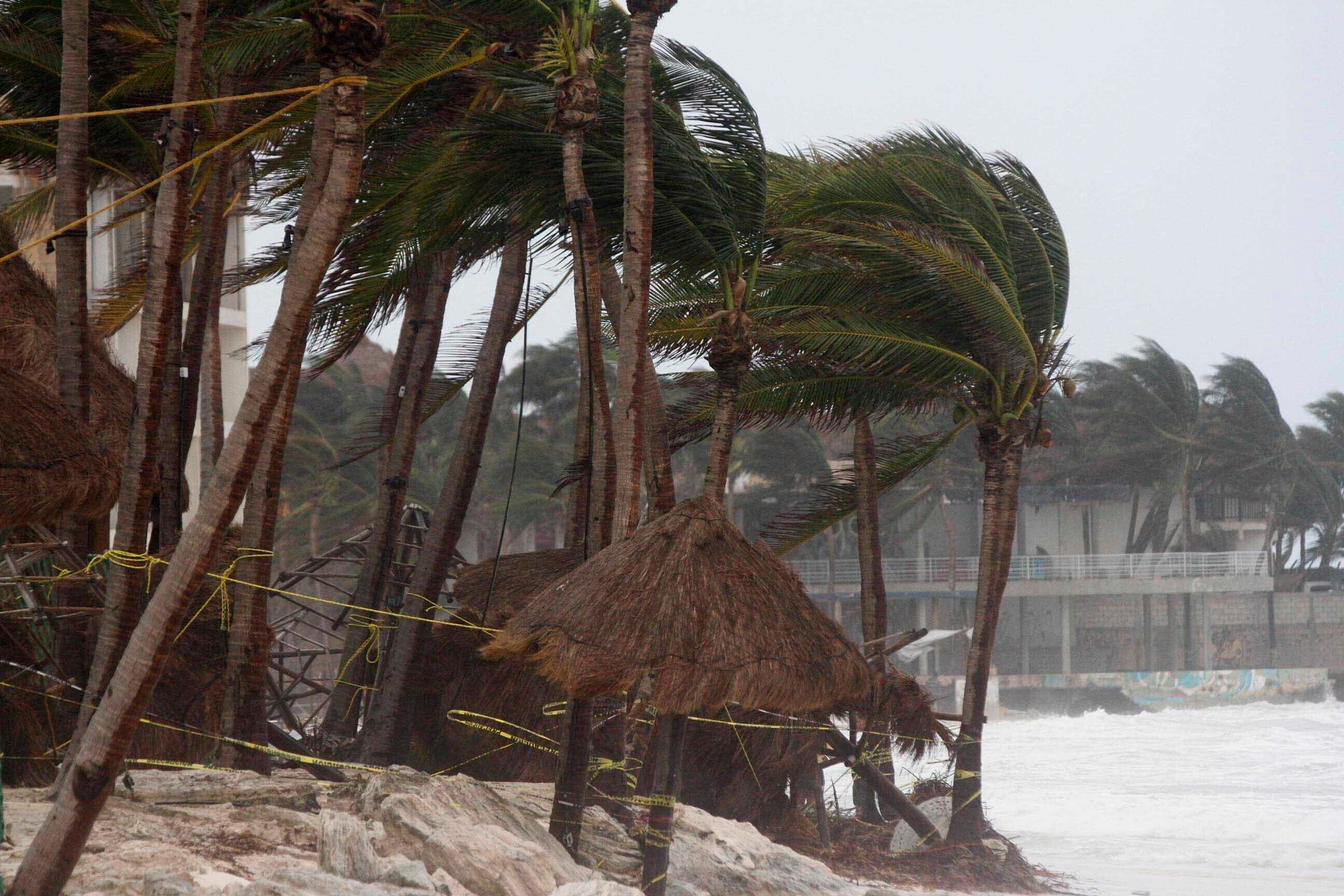 Tropical Storm Zeta forecast to regain hurricane strength before Gulf Coast landfall on Wednesday