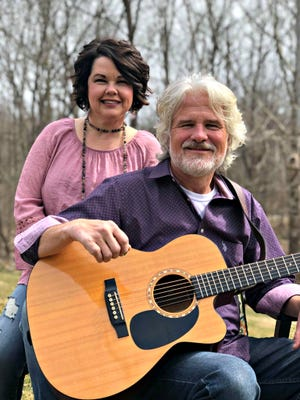 """Scott and Amy Loveday, an acoustic duo known as """"The Lovedays,"""" will perform in the second of a series of live fall concerts at the Ohio Theatre in Loudonville at 7 p.m. on Nov. 7. The concert will also be livestreamed."""