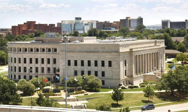 The Oklahoma Judicial Center, pictured on July 23, 2019, is the headquarters of the Oklahoma Supreme Court.