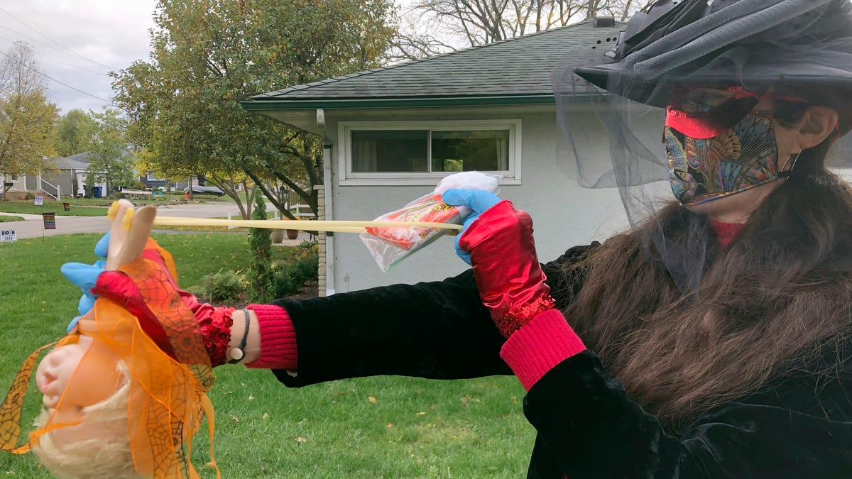 One good thing: Wickedly creative pandemic trick-or-treating