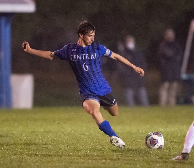 Central Christian's Kaden Schrock commanded the midfield for another district champion Comets soccer team, along with playing basketball and baseball.