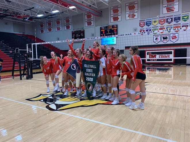 DCG volleyball captured their fourth state tournament berth in program history after defeating Marion in the regional title game on Tuesday, Oct. 27.