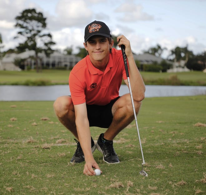 Spruce Creek senior Ian Ball, who hits 68% of fairways in regulation, was diagnosed with Type 1 diabetes at the age of 9.