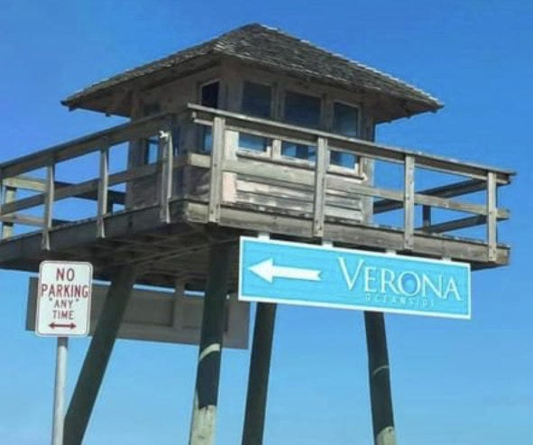 This photo of the World War II-era watchtower along A1A in Ormond-by-the-Sea was taken by a local resident last week showing a newly attached directional sign for ICI Homes' new Verona Oceanside community across the street. The sign sparked outrage from area residents. The sign was put up without the knowledge of ICI Chairman/CEO Mori Hosseini, who immediately ordered its removal.