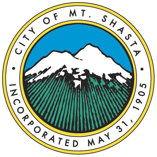 City of Mt. Shasta logo