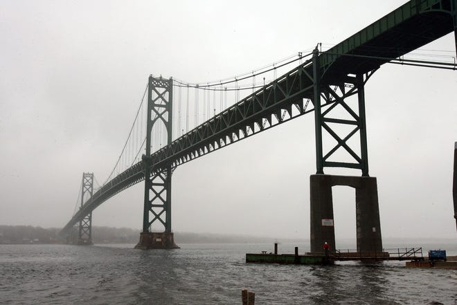 The Mount Hope Bridge that connects Portsmouth and Bristol opened on Oct. 24, 1929.